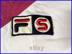 Supreme FILA polo shirt box logo