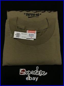 Supreme FW07 Tera Patric Tee Brown M Box Logo TNF CDG Nas Gucci Tyson SS20 Tupac