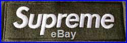 Supreme FW11 Box Logo Hoodie Olive Green AUTHENTIC XL