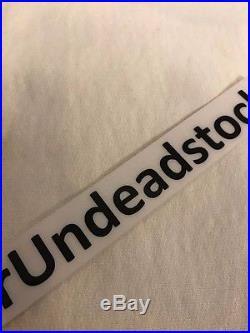 Supreme FW14 White Tonal Box Logo BOGO Hoodie Hooded Sweatshirt Sz Large L New