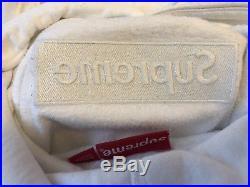 Supreme FW14 White Tonal Box Logo BOGO Hoodie Size XL