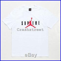 Supreme FW15 Supreme/Jordan Tee Jumpman Box Logo Nike T-shirt White