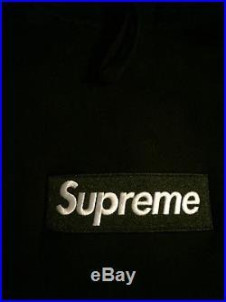 Supreme FW16 Black Box Logo Hoodie Size XL