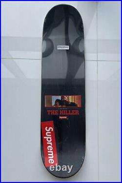 Supreme FW18 The Killers Skate Deck Skateboard Box Logo Bogo 100% Authentic