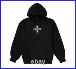 Supreme FW20 Cross Box Logo Hoodie Size Medium New
