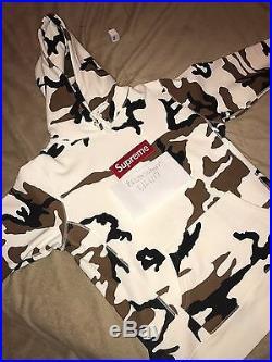 Supreme FW 16 Box Logo Hoodie Sz M 100% Authentic