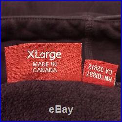 Supreme F/W11 Burgundy Box Logo Pullover Hoodie XL