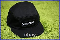 Supreme F/W 2016 Camo Camp Cap Box Logo Hat