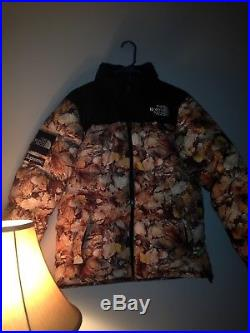 Supreme F/W 2016 The North Face Nuptse Puffy Jacket Leaves Box Logo