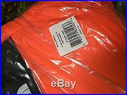 Supreme F/W 2016 The North Face Nuptse Puffy Jacket Orange Box Logo