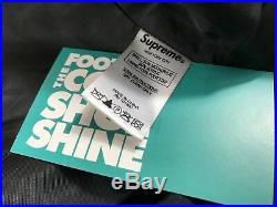 Supreme Faux Fur Patchwork Jacket Brown Gold Olive Beige Red Box Logo Cdg New M