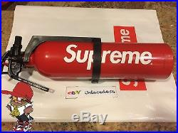 Supreme Fire Extinguisher SS15 Kidde Red Box Logo Deck Bape Tee S FW
