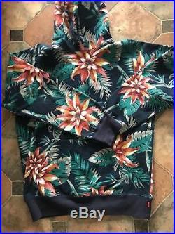 Supreme Floral Jungle Sweatshirt Box Logo Kith Cdg Wtaps Nf Camo Camp Hat Xl