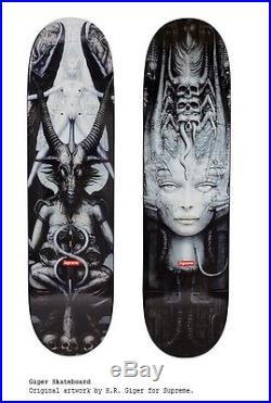Supreme Giger Box Logo H. R. Spel LI Black Skate Deck Skateboard monster only