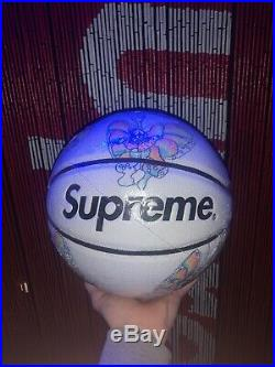 Supreme Gonz Butterfly Spalding Basketball White CDG Box Logo SS16 BOGO