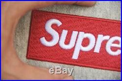 Supreme HEATHER GREY Box Logo Hoodie