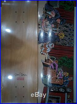 Supreme Halloween Skateboard Deck Sean Cliver box logo Family Ritual NEW