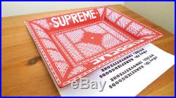 Supreme Hermes Ceramic Ashtray Valet Tray Red White Box Logo Ss12 2012