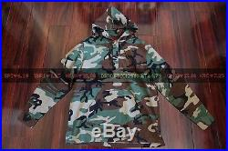 Supreme Hooded Ripstop Pullover Shirt Camo Box Logo Hoodie Fear Of God Fog Large