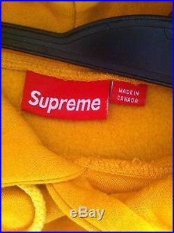 Supreme Hoodie Box Logo Medium 100% Authentic