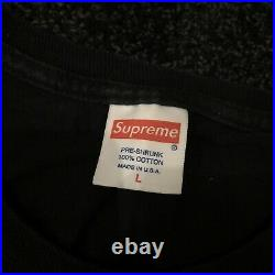 Supreme Hypnotize Minds 2012 Three 6 Mafia T-shirt Black Large Box Logo Dipset