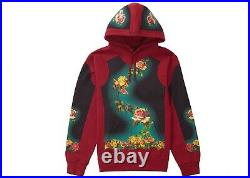 Supreme Jean Paul Gaultier Hoodie Crimson Large Pcl Box Logo Cdg Undercover