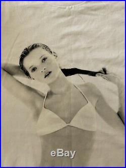 Supreme Kate Moss 10 Year Anniversary Tee Shirt 2004 White Red Box Logo XL Bogo