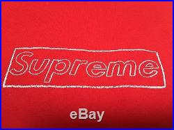 Supreme Kaws Box Logo Tee Large