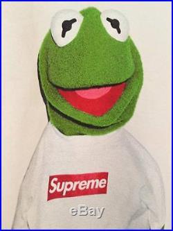 Supreme Kermit L 2008 box logo bogo morrissey raekwon tyson kate moss yankees