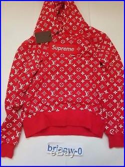 Supreme LV Box Logo Hoodie