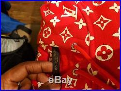 Supreme Louis Vuitton Box Logo Hoodie Size L New