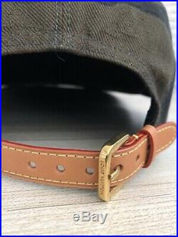 Supreme Louis Vuittons Box Logo Monogram Hat Cap