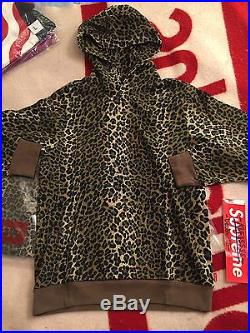Supreme Mini Harvard Hoodie Hoody Box Logo Leopard S Small Bogo Pullover DS