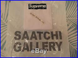 Supreme Mo Wax Box Logo Tee James Lavelle L Large T-shirt Saatchi Gallery Bogo