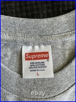 Supreme Morrissey L Authentic Rare 2016 box logo