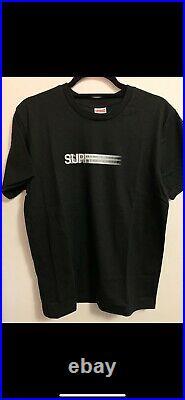 Supreme Motion Logo Tee Black Size L Large T-Shirt Box Logo Pre Owned