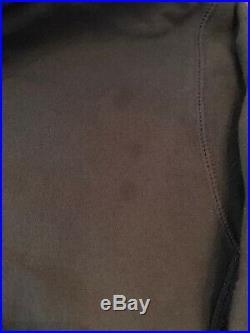Supreme Muhammad Ali Warhol Photo Hoodie Sweatshirt Box Logo L navy blue