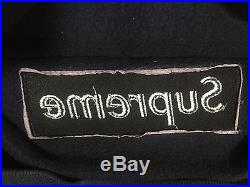 Supreme Navy On Navy Box Logo Crewneck Sweater Size Medium
