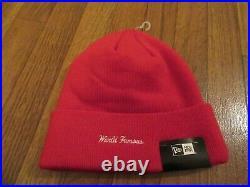Supreme New Era Bandana Box Logo Beanie Cap Red FW19 FW19BN4 Supreme New York