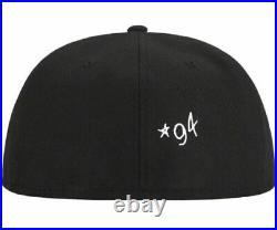 Supreme New Era Gonz Logo Fitted Black Size 8 RARE SIZE