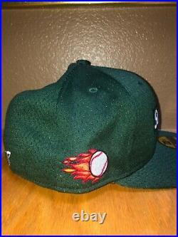 Supreme New Era Mesh Box Logo Cap Dark Green