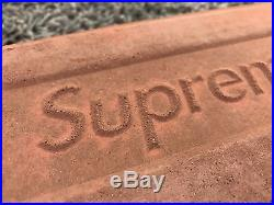 Supreme New York Brick Box Logo F/W 16 2016 Brand New In Hand Free Shipping! DS