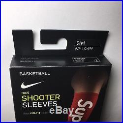 Supreme Nike Nba Shooting Sleeves S/m Small / Medium Rare Red Box Logo
