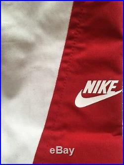 Supreme Nike Sb Jacket Sz M Red White SS09 Box Logo World Famous Vintage SS19