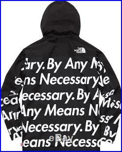 Supreme North Face Mountain Pull Over Jacket L Box Logo By Any Means Necessary