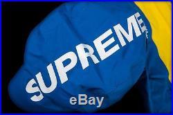 Supreme North Face Steep Tech Hooded Jacket L Royal Box Logo TNF