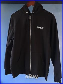 Supreme Overfiend Zip Up Sweatshirt L Large NEW Hoodie Toshio Maeda Box Logo