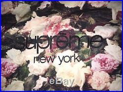 Supreme PCL Power Corruption Lies Classic Box Logo Floral Hoodie Sweater SS2013