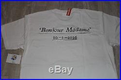 Supreme Paris Box Logo Opening Tee Bonjour Madame