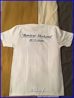 Supreme Paris Store Opening T Shirt Box LOGO CDG RARE MEDIUM